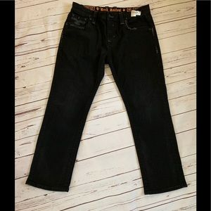 Rock Revival Black James Relaxed Fit Jeans
